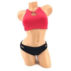 Roxy Softly Love 2 Piece Bikini Swimsuit L